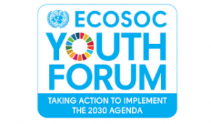 logo of the ECOSO Youth Forum