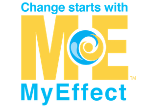 "MyEffect logo with saying ""Change starts with ME"""