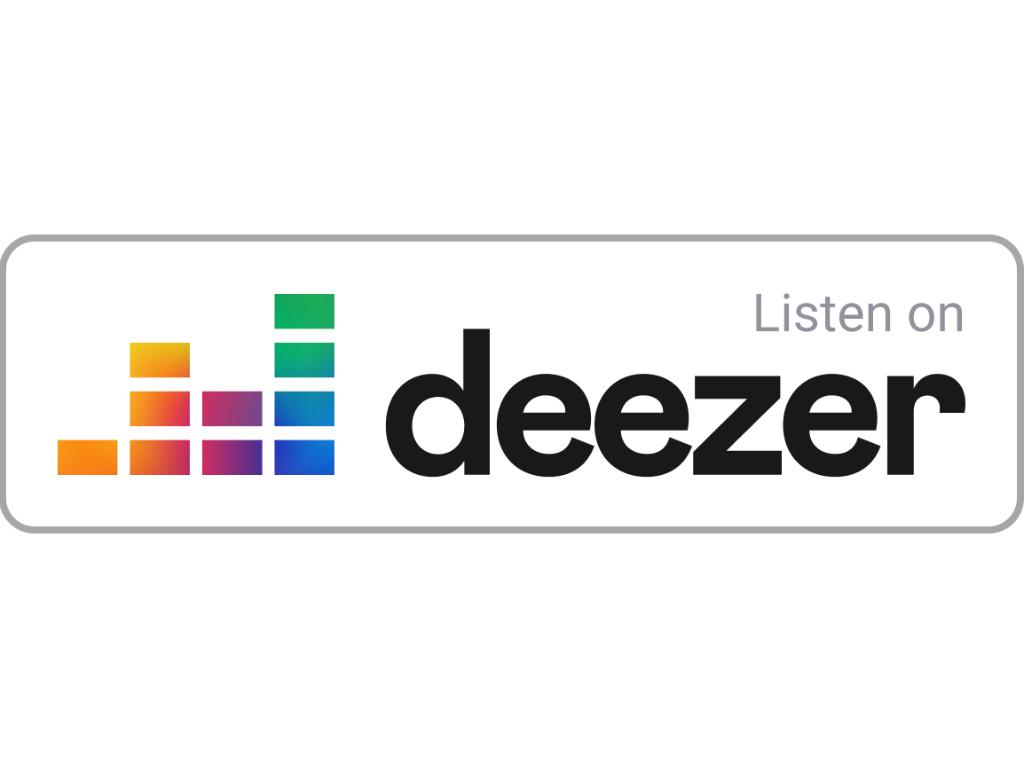Listen on Deezer badge