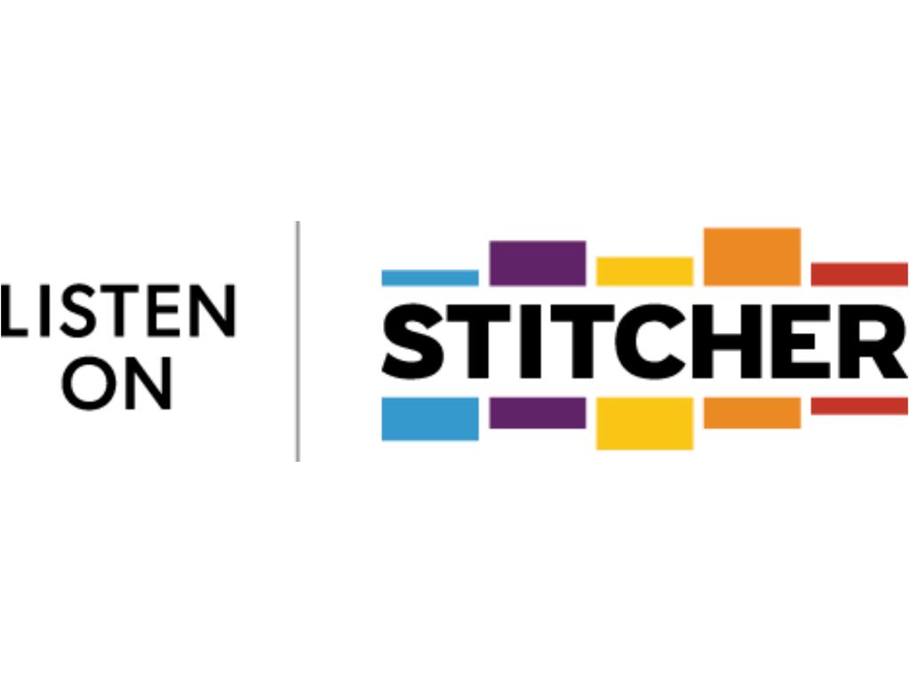 Listen on Stitcher badge